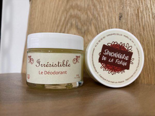 Déodorant naturel irrésistible